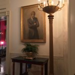 JFK's presidential portrait done posthumously. Commissioned by Jackie Kennedy