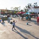 Bubbles at Balboa Park
