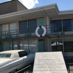 Wreath in front of Dr. King's room.