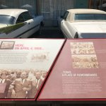 The cars that were parked at the hotel on April 4, 1968