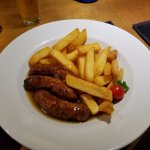Sausages (mmm, I'm getting hungry)