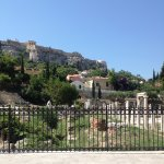 The beautiful remains of the ancient Agora