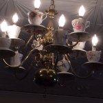 Tea cups chandelier