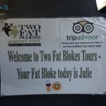 Foto de Two Fat Blokes Gourmet Tours