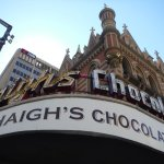 Haigh's Chocolates on the Bee Hive corner at Rundle mall.
