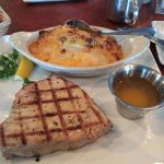 Grilled Tuna & Scalloped Potatoes