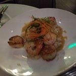 Thai scallops and shrimp