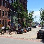 Love the cobblestone streets!