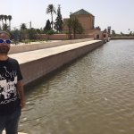 Menara - The big pool of Marrakech