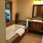 Soaking tub!