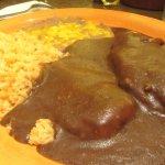 Chicken Mole, Casa Azteca Mexican Restaurant, Milpitas, CA
