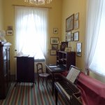 "Mendelssohn's study, where he wrote ""Elijah"""