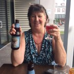 Me having a great sour straberrie beer