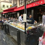 L'Atlas has a great selection of fresh seafood and a fabulous location on rue de Buci.