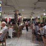 The restaurant on Sat evening