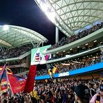 Adelaide Crows match at Adelaide Oval.