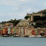 Portovenere from the harbor