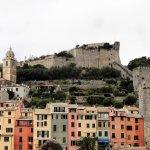 Portovenere with Doria Castle and Torre Capitolare