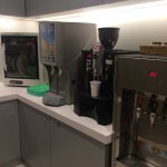 Complimentary 24/7 coffee/tea/juices/water facility