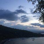 Jemeluk bay from the Sunset point
