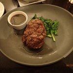 Big Eye Steak with Spinach