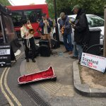 Stamford Hill Billy band at Broadway Market
