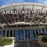Restaurant is next to Apollo Bay Hotel