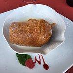 Baba au rhum servi tiède, crème de mascarpone vanillée.