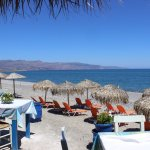 Beach and restaurant area - 500m from Ledra