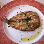 Pesce di lago con olio erette e aglio