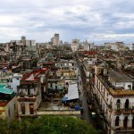 Havana view from parque central hotel roof