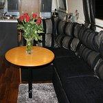 Duck Islands narrow boat Adagio Lounge