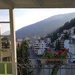 Blick auf Balkon aus Juniorsuite