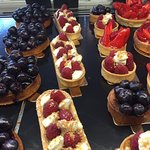 Patisseries aux fruits