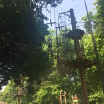 Zip lining at battersea park!