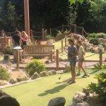 Mini golf at battersea park