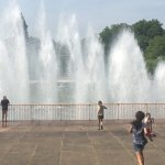 Fountains at battersea park