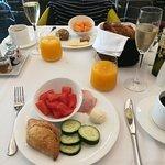 kleine Auswahl des großen Frühstück-Programms