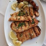 our sicilian trio grilled meats platter!