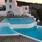 Pool: sehr schöner Sonnenuntergang zu sehen