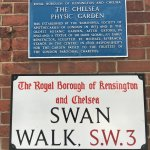 Entrance to Chelsea Physic Garden