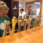 Taps and friendly Staff