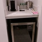 Coffee area in bathroom - King Junior Suite, second building, 1st floor