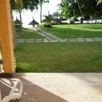 vue du rez de chaussée n°512 à 10m de la plage!