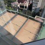 Hotel tennis courts