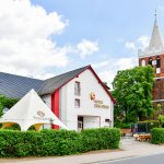 Unser Stern mit Terasse und unserer Kirche