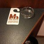 Ash tray in a non smoking room?