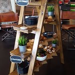 Pastries on a ladder. Loved this design!