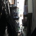 One of the alleys so common in the colony