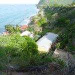 L'hôtel vu du Fort Oranje
